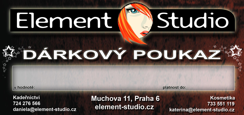 Kadeřnictví Kosmetika Element-studio Praha 6 Dejvice